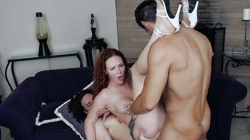 Audrey Hollander and her new partners for all holes